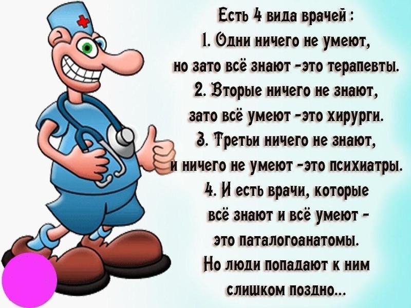 Новогодние шуточные поздравления медиков